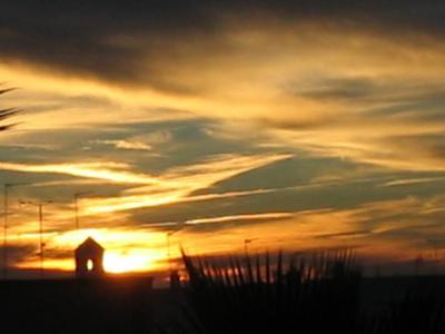 El color del cielo de mi silencio.